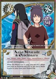 Anko y Orochimaru BP