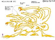 Arte Pierrot - Clone de Naruto de Nove-Caudas Completo