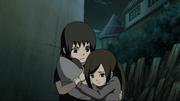 Itachi salva Izumi