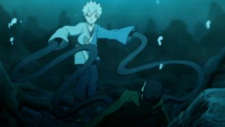 Mitsuki Subdues Shino