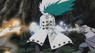 Naruto e Sasuke atacam Madara (Anime)