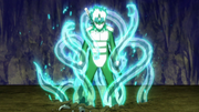 Mitsuki en su Transformación del Sabio