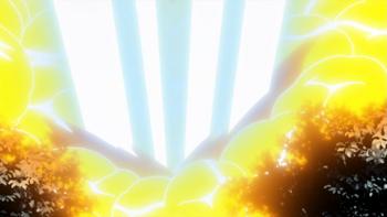 ...then it detonates and destroys the field.