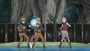 Naruto crea un Rasengan para enfrentar a Kabuto