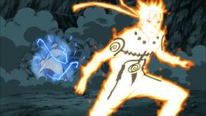 Naruto desvia do Soco de A