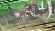 Punho Adamantino (Sarada - Anime)