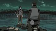 Ibiki Confronts Kisame