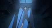 Iruka luego de recordar la noche que Naruto robó el Pergamino de Sellos