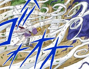 Jutsu Gran Hoz de Comadreja Manga