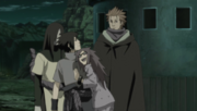 Karin perdoa Sasuke