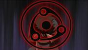 Madara sufriendo los efectos secundarios del Mangekyō