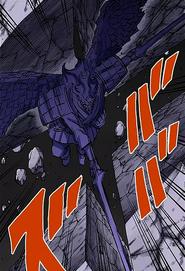 Susanoo final estabilizado de Sasuke (Colorido)