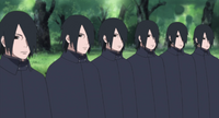Clones das Sombras de Sasuke