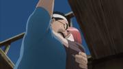 Dokku e Miina quase caem