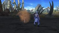 Escudo de Areia (Gaara - Game)
