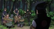 Esuadron de Sasuke atrapa a los Bandidos