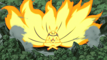 Kurama Accumulating Energy