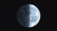Lua rachada