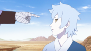 Mitsuki sendo apontado