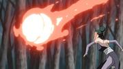 Pakura lança bola de calor