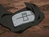 Protector rasguñado de Sasori de Sunagakure