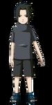 Sasuke - Infância (Render)