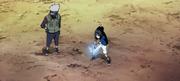 Sasuke entrenado el Chidori