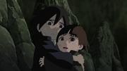 Ashitaba e Komichi em perigo