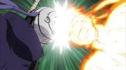 Le choc entre Naruto et Tobi