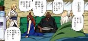 Los Kages anteriores reunidos en Iwagakure