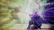 Mitsuki ataca Kakashi