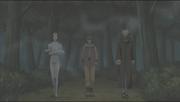 Rinji e os outros chegam no campo de batalha