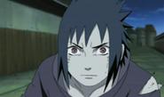 Sasuke ativa seu Sharingan