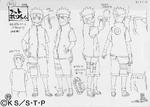 Diseño de Naruto la Película ¡La Gran Excitación! Pánico Animal en la Isla de la Luna por Pierrot