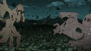 Gyūki intenta atacar a Gedo Mazo
