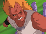 Puño Arhat Ataque Roca Anime