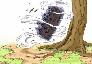 Jutsu Reemplazo de Cuerpo Manga