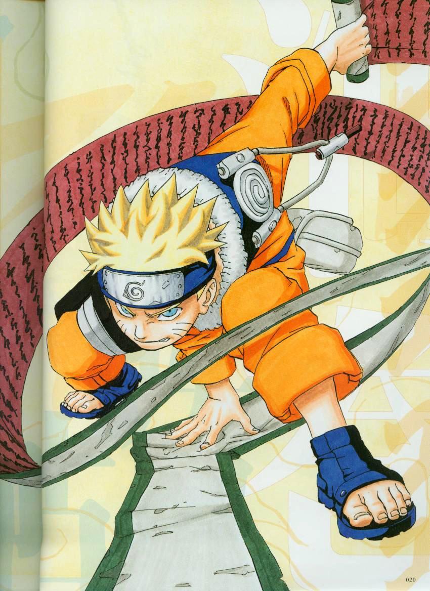 Imagen - Libro de Pinturas de Naruto Uzumaki 14.jpg   Naruto Wiki ...
