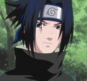 Apariencia modificada de Sasuke en la primera parte