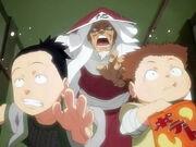 Chōji y Shikamaru haciendo travesuras