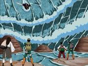 Kisame vs el equipo Guy