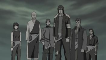 Sześciu lojalnych strażników.