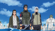 Os Shinobi de Konoha se Movendo