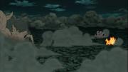 Shinju vs. Gyūki e Kurama