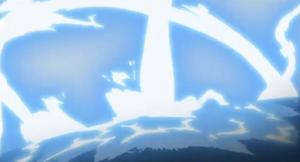 Bala de Elemento Rayo Aliento Poderoso Anime