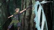Elemento Agua Jutsu de Espejo de Agua Anime 1