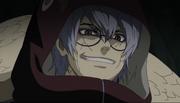 Kabuto complacido al ver las habilidades de Torune