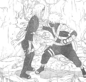 Kakashi mata a Rin Imagen Destacada