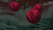 Las Bolas Bestia con Cola disparadas