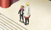Naruto promete a Boruto asistir al cumpleaños de Himawari
